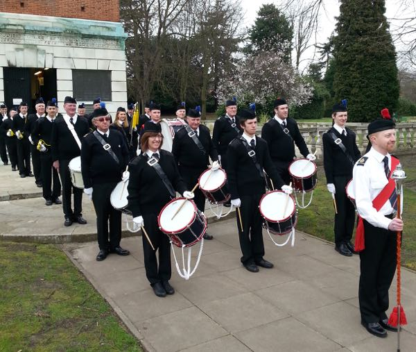 Photo: 2015 March 21st - Parade & Practice at Loughborough